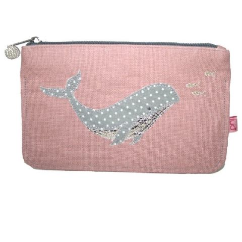WHALE PURSE PINK